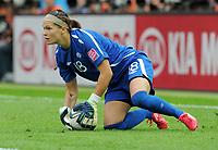 Fotball<br /> VM kvinner 2011 Tyskland<br /> 26.06.2011<br /> Tyskland v Canada<br /> Foto: Witters/Digitalsport<br /> NORWAY ONLY<br /> <br /> Torfrau Erin McLeod (Kanada)<br /> Frauenfussball WM 2011 in Deutschland, Deutschland - Kanada 2:1