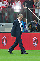 Football - World Cup 2014 Qualifier - Poland vs. England<br /> Roy Hodgson, England manager makes a pitch inspection at the National Stadium, Warsaw