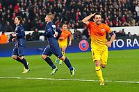 joie de Xavi Hernandez (Barca) - but penalty
