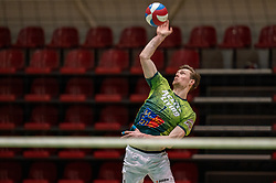 Jannes van der Ham of Orion in action during the league match between Active Living Orion vs. Amysoft Lycurgus on March 20, 2021 in Doetinchem.