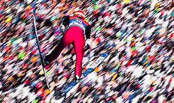 28.02.2019, Seefeld, AUT, FIS Weltmeisterschaften Ski Nordisch, Seefeld 2019, Nordische Kombination, Skisprung, im Bild Francois Braud (FRA) // Francois Braud of France during the Ski Jumping competition for Nordic Combined of FIS Nordic Ski World Championships 2019. Seefeld, Austria on 2019/02/28. EXPA Pictures © 2019, PhotoCredit: EXPA/ JFK