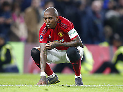 February 18, 2019 - London, United Kingdom - Manchester United's Ashley Young.during FA Cup Fifth Round between Chelsea and Manchester United at Stanford Bridge stadium , London, England on 18 Feb 2019. (Credit Image: © Action Foto Sport/NurPhoto via ZUMA Press)