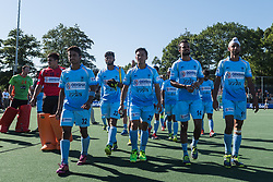 the players of India are disappointed during the Champions Trophy finale between the Australia and India on the fields of BH&BC Breda on Juli 1, 2018 in Breda, the Netherlands.