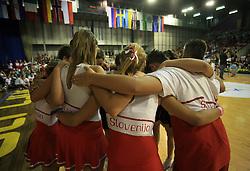 Flip, Slovenia during final ceremony at European Cheerleading Championship 2008, on July 5, 2008, in Arena Tivoli, Ljubljana, Slovenia. (Photo by Vid Ponikvar / Sportal Images).
