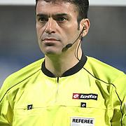 Referee's Yunus Yildirim during their Turkish superleague soccer match Besiktas between Orduspor at Mardan Stadium in Antalya Turkey on Monday, 05 December 2011. Photo by TURKPIX