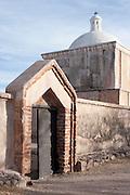 The back door at Tumacacori National Historic Park in southern Arizona.