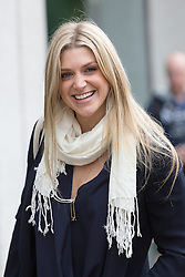 © Licensed to London News Pictures. 09/09/2015. London, UK. Anna Williamson arrives at the ITV Studios in London. Photo credit : Vickie Flores/LNP