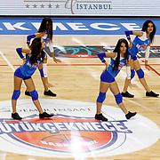 Demir Insaat Buyukcekmece Basketbol's and Anadolu Efes's during their Turkish Basketball Spor Toto Super League match Demir Insaat Buyukcekmece between Anadolu Efes at the Gazanfer Bilge Arena in Istanbul Turkey on Saturday 31 October 2015. Photo by Aykut AKICI/TURKPIX