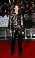 NOV 14 2012 The Twilight Saga: Breaking Dawn Part 2, London premiere