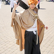 London,England, 26th May 2017 : MCM London Comic Con 2017 saw hundred of people in customs of their favourites Cosplay attending the event and having a good time helds at London Excel at Royal Victoria Dock, London. Photo by See Li