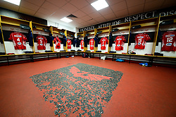 A general view of the Scarlets dressing room - Mandatory by-line: Dougie Allward/JMP - 02/11/2019 - RUGBY - Parc y Scarlets - Llanelli, Wales - Scarlets v Toyota Cheetahs - Guinness PRO14
