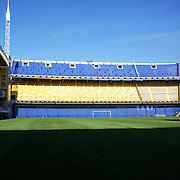 The famous Boca Juniors football stadium, La Bombonera, in La Boca region of Buenos Aires, Argentina, 25th June 2010. Photo Tim Clayton.