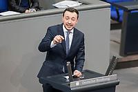 21 MAR 2019, BERLIN/GERMANY:<br /> Paul Ziemiak, MdB, CDU, Generalsekretaer der CDU, haelt eine Rede,  Bundestagsdebatte zur Regierungserklaerung der Bundeskanzlerin zum Europaeischen Rat, Plenum, Deutscher Bundestag<br /> IMAGE: 20190321-01-120
