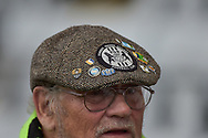 Forest Green Rovers Fans hat during the EFL Sky Bet League 2 match between Stevenage and Forest Green Rovers at the Lamex Stadium, Stevenage, England on 21 October 2017. Photo by Adam Rivers.