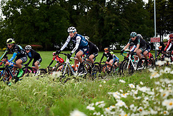 Ellen van Dijk (NED) in the bunch at Stage 4 of 2019 OVO Women's Tour, a 158.9 km road race from Warwick to Burton Dassett, United Kingdom on June 13, 2019. Photo by Sean Robinson/velofocus.com