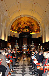 The ROYAL HOSPITAL CHAPEL at Carols from Chelsea in aid of the Institute of Cancer Research at the Royal Hospital Chapel, Chelsea, London on 1st December 2005.<br /><br />NON EXCLUSIVE - WORLD RIGHTS