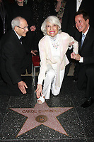 2/21/2011 Carol Channing at her Hollywood Walk of Fame ceremony