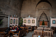 A 13th century han in Kayseri is now used as a cultural and religious centre, as well as a cafe and restaurant.