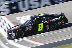 September 14, 2018 - Las Vegas, Nevada, United States of America - Ray Black II (8) brings his race car down the front stretch during practice for the DC Solar 300 at Las Vegas Motor Speedway in Las Vegas, Nevada. (Credit Image: © Chris Owens Asp Inc/ASP via ZUMA Wire)