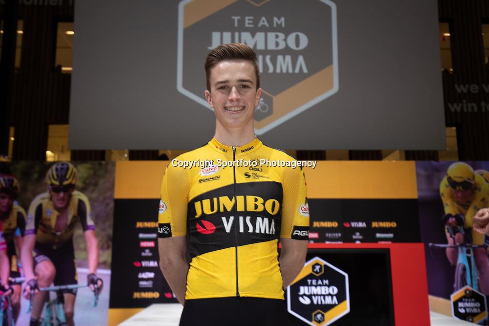 10-12-2019: Wielrennen: Teampresentatie Jumbo Visma: Amsterdam <br />Rick Pluimers