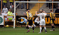 Photo: Marc Atkins.<br />Boston United v Hereford United. Coca Cola League 2. 25/11/2006. Alan Connell (20) of Hereford goes close with a shot on goal.