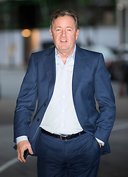 © Licensed to London News Pictures. 28/01/2018. London, UK. Television personality PIERS MORGAN arrives at BBC Broadcasting House in London ahead of an appearance on The Andrew Marr Show on BBC One. Photo credit: Ben Cawthra/LNP