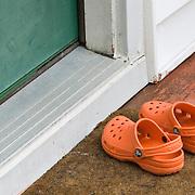 Child's Orange Crocs