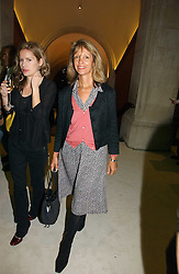 SABRINA GUINNESS at an exhibition of David Hockney portraits at the National Portrait Gallery sponsored by Burberry on 11th October 2006.<br />