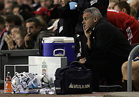 Photo: Paul Thomas.<br /> Liverpool v Cardiff City. Carling Cup. 31/10/2007.<br /> <br /> Dejected manager of Cardiff, Dave Jones.