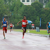 Singapore Polytechnic, Saturday, January 11, 2014 — Muhammad Reyhan Amierul of Temasek Polytechnic was in scintillating form as he triumphed in the men's 400m final at the Institute-Varsity-Polytechnic (IVP) Track and Field Championships.<br /> <br /> Story: http://www.redsports.sg/2014/01/19/ivp-400m-reyhan-amierul-tp/<br /> <br /> Photos will be deleted after one month to make way for newer events.