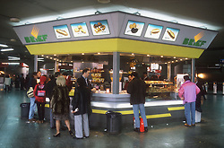 Snack bar located at the Atocha railway station; Madrid,