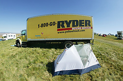 Ryder Truck At The gorge Campground