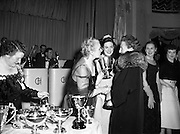 NAIDA Fashion Parade Ball at The Gresham Hotel.24/04/1953