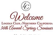 Lincoln Club Spring Seminar 2018