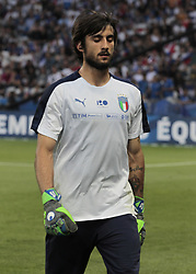 June 1, 2018 - Nice, Italy - Mattia Perin during the friendly match between France and Italy, in Nice, on June 1, 2018  (Credit Image: © Loris Roselli/NurPhoto via ZUMA Press)
