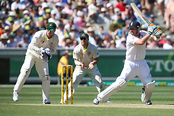 © Licensed to London News Pictures. 26/12/2013. Ian Bell batting during the Ashes Boxing Day Test Match between Australia Vs England at the MCG on 26 December, 2013 in Melbourne, Australia. Photo credit : Asanka Brendon Ratnayake/LNP