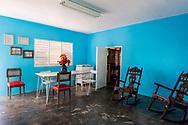 A meeting room at La Panchita, the factory that makes Guyaba bars. (Florida, Camagüay Province, Cuba).