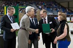 Kellis William and Jean, (Ireland Verband), HRH Princess Benedikte<br /> CHI de Genève 2016<br /> © Hippo Foto - Dirk Caremans<br /> 10-12-2016