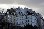 Parisian Architecture in the Latin Quarter, Paris