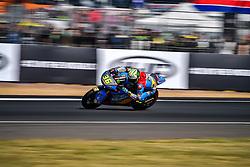 May 19, 2018 - Le Mans, Sarthe, France - 36 JOAN MIR (ESP) EG 0,0 MARC VDS (BEL) KALEX MOTO2 (Credit Image: © Panoramic via ZUMA Press)