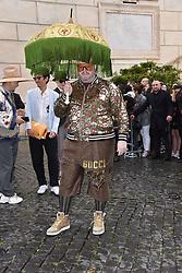 Rome, Piazza Del Campidoglio Event Gucci Parade at the Capitoline Museums, In the picture: