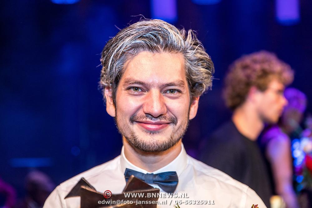 NLD/Amsterdam/20170917 - Gala van het Nederlands Theater 2017, Winnaar Arlecchino, Maarten Heijmans