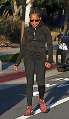 Doria Ragland seen out for a walk - 9 Jan 2020