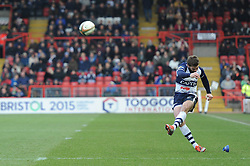 - Photo mandatory by-line: Dougie Allward/JMP - Mobile: 07966 386802 - 15/02/2015 - SPORT - Rugby - Bristol - Ashton Gate - Bristol Rugby v Moseley - Greene King IPA Championship