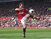 29.03.2014  Manchester, England.  Manchester United's Juan Mata in action during the Premier League game between Manchester United and Aston Villa from Old Trafford