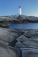 Peggy's Cove Lighthouse Nova Scotia