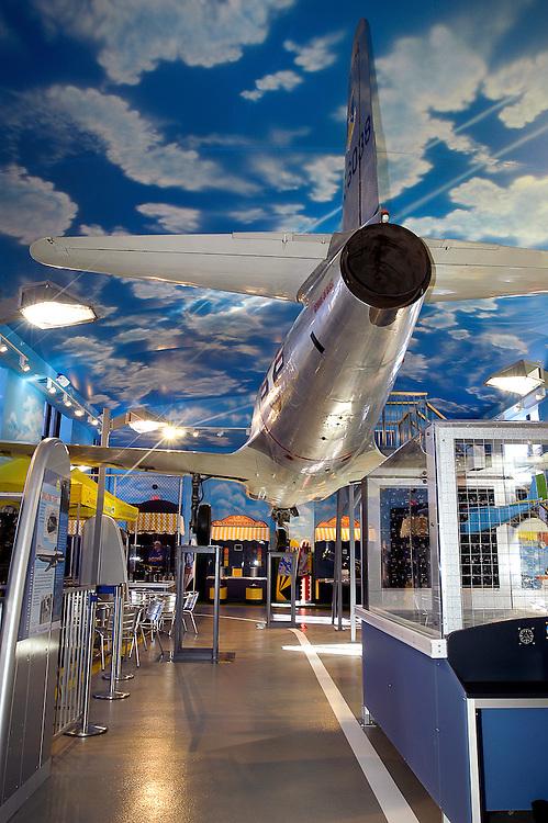 The Franklin Air Show Exhibit,  Franklin Institute, Philadelphia, Pennsylvania,