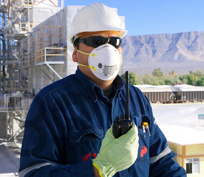 Quimica del Rey en Coahuila, parte de Industrias Peñoles