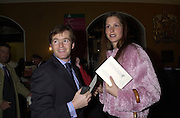 Patrick Green and Leigh Litle. Farm Aid. Royal Albert Hall. 18 April 2001. © Copyright Photograph by Dafydd Jones 66 Stockwell Park Rd. London SW9 0DA Tel 020 7733 0108 www.dafjones.com