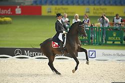 Wientzek-Pläge Birgit, (SUI), For Compliment<br /> European Championship Aachen 2015 - Dressage<br /> © Hippo Foto - Stefan Lafrentz